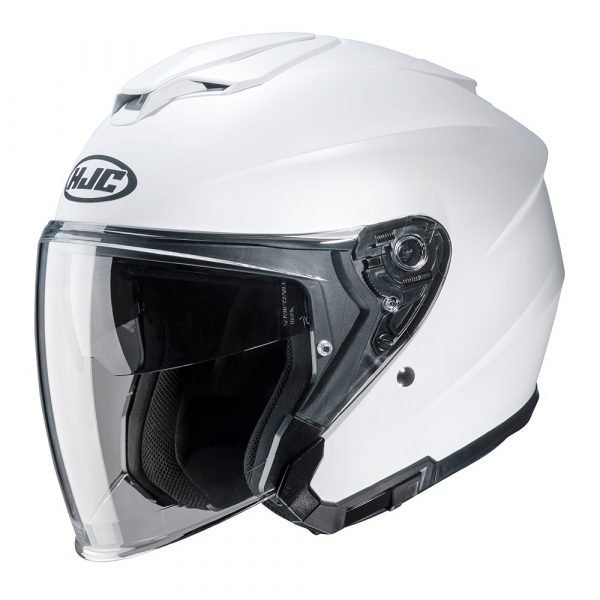 HJC i30 Helmet - Gloss White Colour
