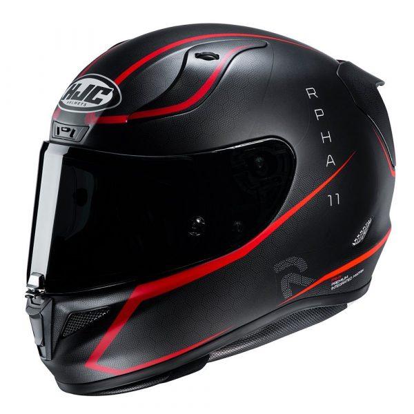HJC RPHA 11 Jarban Helmet - Red colour