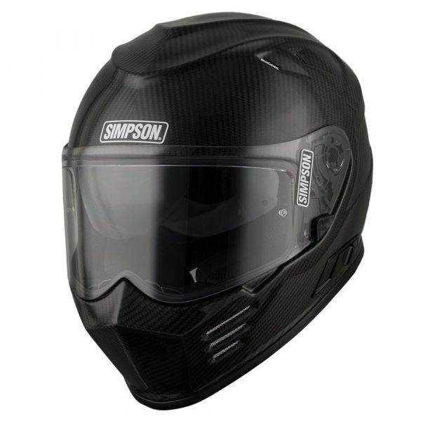 Simpson Venom Helmet - Carbon colour, London