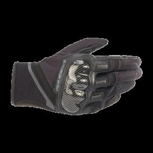Alpinestars Chrome Gloves - Black/Tar Grey colour
