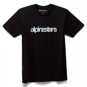Alpinestars Heritage Word Premium T-Shirt - Black colour