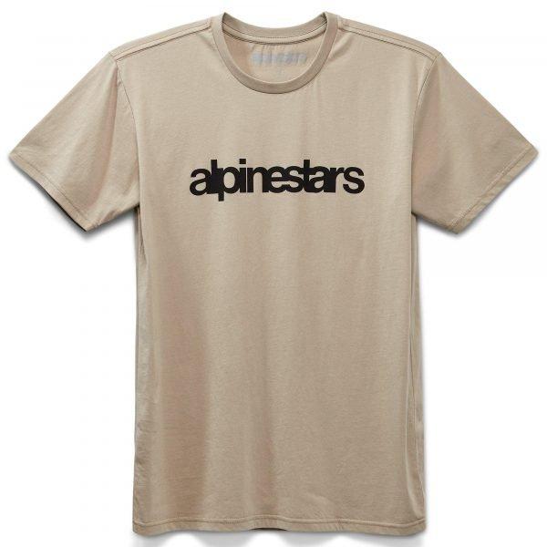 Alpinestars Heritage Word Premium T-Shirt - Coral colour