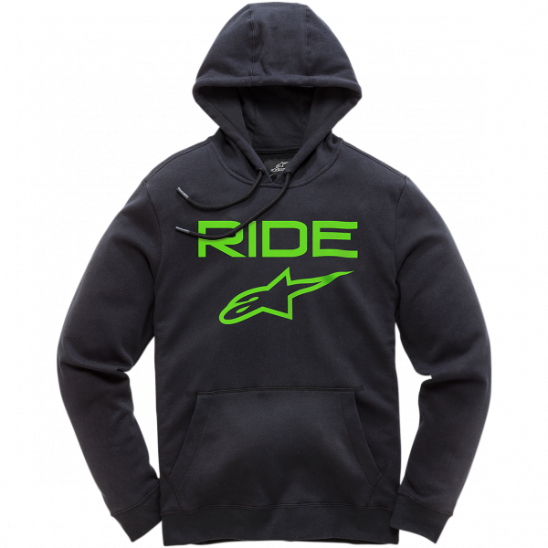 Alpinestars Ride 2.0 Fleece - Black/Green colour