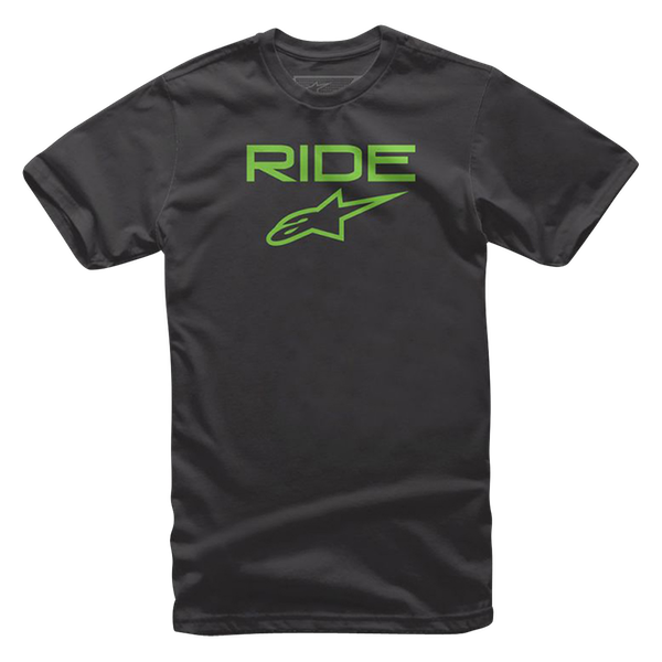 Alpinestars Ride 2.0 T-Shirt - Black/Green colour