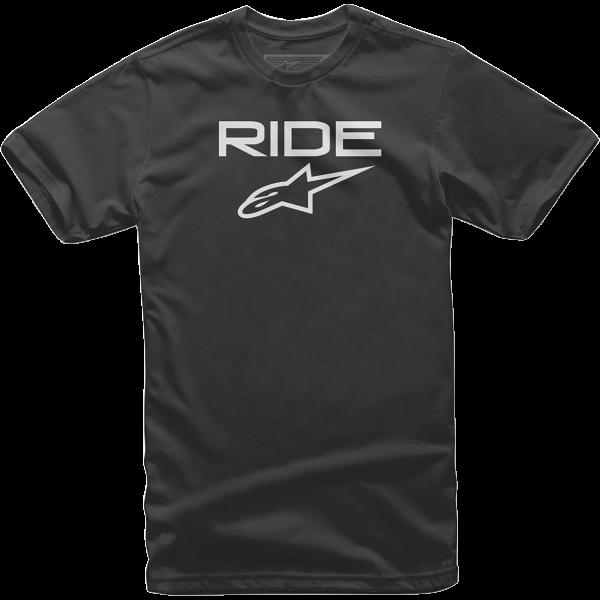 Alpinestars Ride 2.0 T-Shirt - Black/White colour