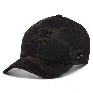 Alpinestars Ride Multicam Hat - Black/Black colour