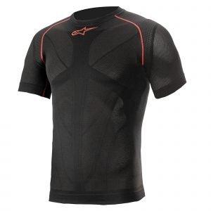 Alpinestars Ride Tech V2 Top Short Sleeve Summer - Black/Red colour