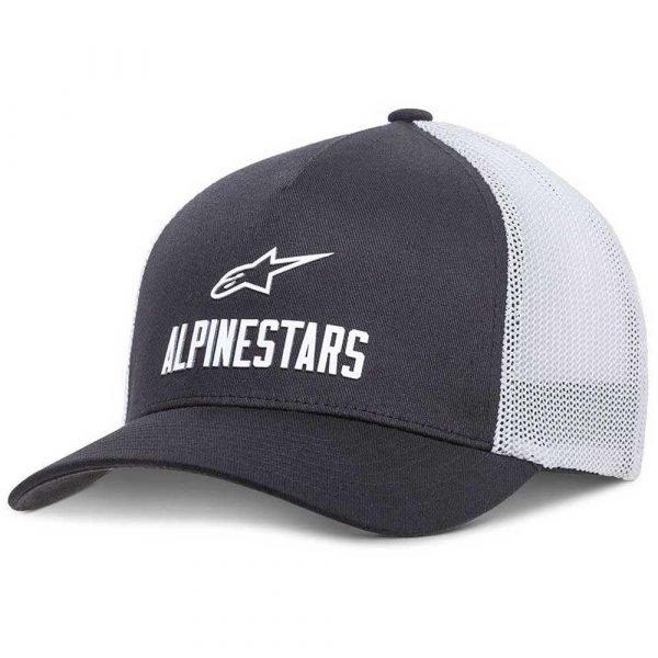 Alpinestars Ride Transfer Hat - Black/White colour