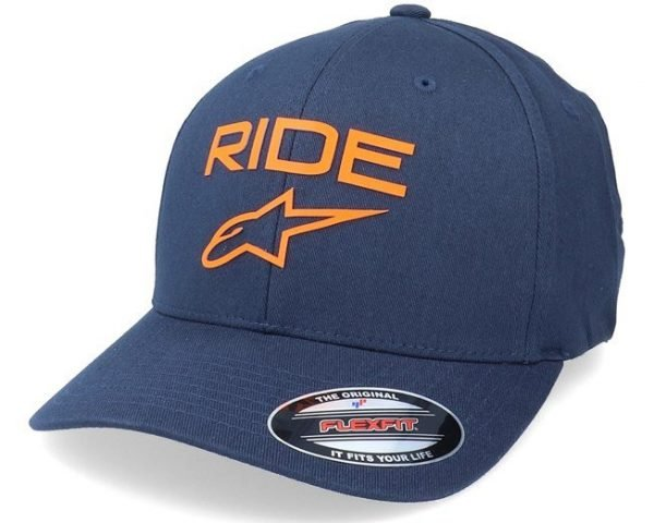 Alpinestars Ride Transfer Hat - Navy/Ogrange colour