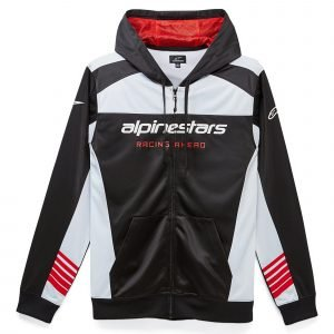 Alpinestars Sessions II Fleece - Black/White colour, MCS, London