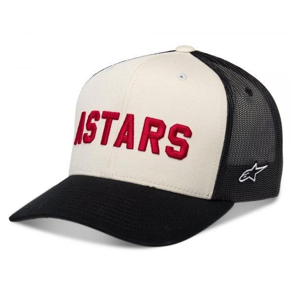 Alpinestars Well Said Trucker Hat - Black/White colour, Chelsea