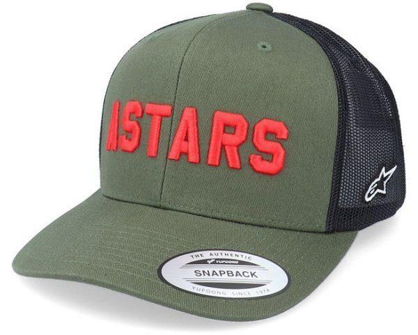 Alpinestars Well Said Trucker Hat - Military/Black colour