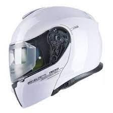 MT Gecko Helmet - Gloss Pearl White colour