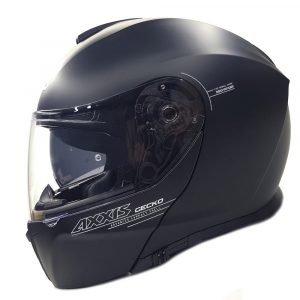 MT Gecko Helmet - Matt Black colour, Chelsea, UK