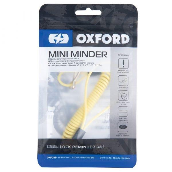 Oxford Mini Minder Lock Reminder Cable - Chelsea, UK