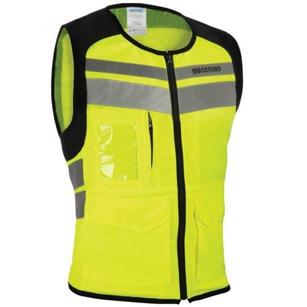 Oxford Utility Bright Top Vest, Fluo colour - MCS, London, UK
